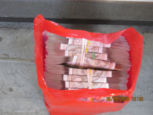 The recovered money