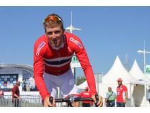 Kristoffer Skjerping under sykkel-VM 2014