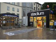 Pressbyrån blir Sveriges minsta Stadiumbutik