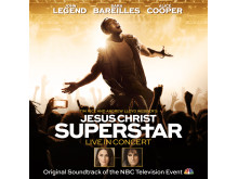 """Jesus Christ Superstar Live in Concert"" - albumomslag"