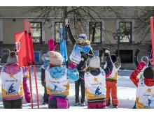 Svenska Skidförbundets satsning Alla på snö aktiverar över 20 000 barn om året på snö.