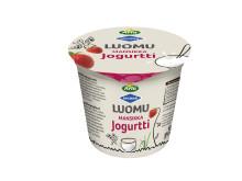 Arla Ingman Luomu mansikkajogurtti 150 g