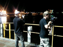 Final film shoot in Port Hedland? Or will we see MoorMaster in action tomorrow? #Cavotec film