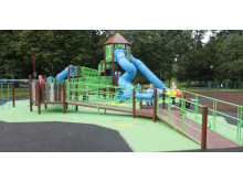 People's Park senior play area re-opens