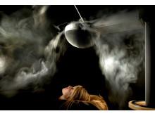 Airsonett Airshower - smoke illustration