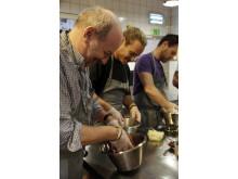 Culinary Academy of Sweden 2014 besöker Ängavallen i Skåne
