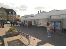 Elstree & Borehamwood Station which is to be extended and improved