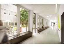 Danderyds sjukhus - ny akutvårdsbyggnad - plan 2 (akuten)