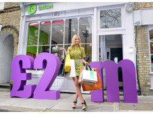 Laura Whitmore celebrates £2m raised in first year of Nectar and Oxfam initiative