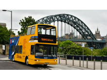 NewcastleGateshead Toon Tour with Tyne Bridge view