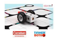 eXperiBot Lernroboter - Cornelsen Experimenta und Tinkerbots kooperieren