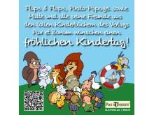 Pax et Bonum Grüße an die Kinder zum internationalen Kindertag2016