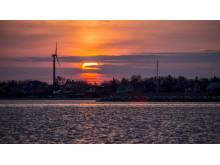 Solnedgang over Fuursund