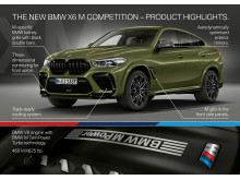 BMW X6 M Competition - Product Highlights