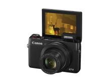 Canon PowerShot G7 X skärm
