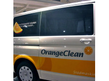 Fordonsdekor Orange clean