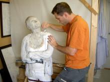 Invigning av skulpturen Ida & Emil