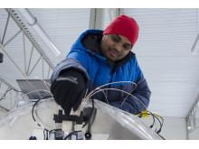 Lavan Kumar Eppanapelli, forskare i experimentell mekanik vid Luleå tekniska universitet.