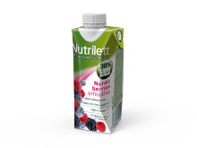 Nutrilett Nordic Berries Less sugar smoothie