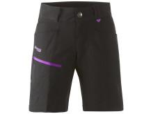 Utne Lady Shorts - Black/Amethyst
