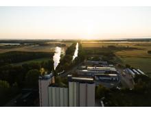 Solör Bioenergis fjärrvärmeanläggning i Odensbacken