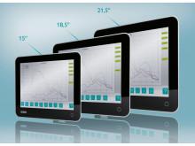 IP65 industri-pc med kraftig processor i flot design