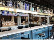 Bar im Pubstyle im neuen ibis Landshut © Christoph Weiss