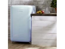 PopArt Blue Retro-Kühlschrank 10030289