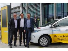 Der Bayernwerk-Vorstand hat entschieden den Fuhrpark des Unternehmens komplett auf E-Fahrzeuge umzurüsten.