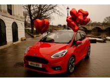 Ford Fiesta alla hjärtans dag