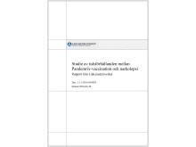 Narkolepsi Panderix-studie. Rapport från Läkemedelsverket