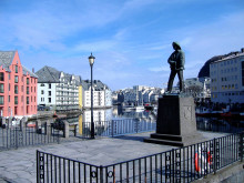 Jugendstil-Architektur in Ålesund
