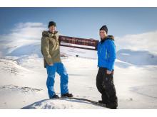 Henrik Hoffman och Magnus Ling (höger)