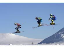 Dalarna Skicross Photo Idre Fjäll