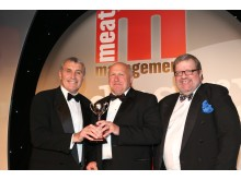 Dunkleys collects Steak Pie Foodservice Category Award