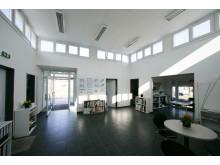 Das Bürogebäude der Firma Seydell Garten-, Landschaftsbau und Dachbegrünung