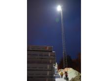 Norrköpings Hamn och Stuveri AB miljösatsar på klimatsmart hamnbelysning