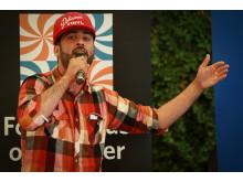 Behrang Miri vinnare debatt-SM i kulturpolitik 2014