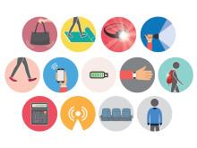 Möjliga användningsområden för den elektiska textilen