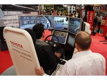 Ecodriving simulator hos Toyota Material Handling