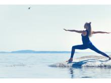 SOC x Josefines yoga. Välbalanseras yogalinje. Foto Stadium