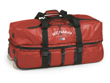 Sebago Roll Wheely Bag Red