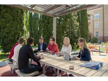Parco möbelgrupp special, design Broberg & Ridderstråle för Nola. Work OUT, Norrporten Växjö