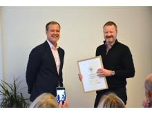 Vasakronan - branschvinnare i Sustainable Brand Index B2B 2017