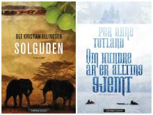 Omslag Solguden & Om hundre år er allting gjemt