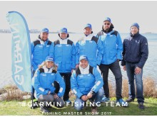 Garmin Fishing Team mit Garmin Mitarbeitern