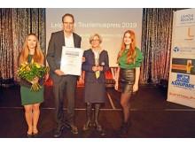 Den zweiten Platz in der Kategorie Unternehmen erhielt das Museum der bildenden Künste Leipzig. Den Preis nahm Dr. Jeanette Stoschek, stellvertretende Direktorin, entgegen.