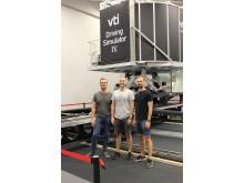 Projektteam på VTI i Göteborg