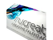Akrylskylt Nucreate