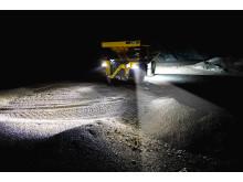 Arbetsfordon gruva